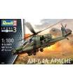 Revell Plastic ModelKit vrtulník 04985 - AH-64A Apache (1:100)