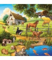 Ravensburger Domácí zvířata 3 x 49d