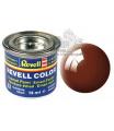 Revell emailová barva 32180 lesklá blátivě hnědá