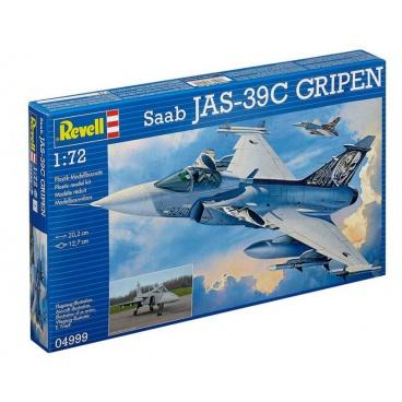 Revell Plastic ModelKit letadlo 04999 - Saab JAS 39C Gripen (1:72)