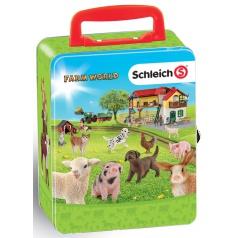 Klein Sběratelský kufřík SCHLEICH zvířata