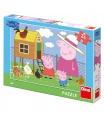 Dino dětské puzzle Peppa Pig: Slepičky 24 D