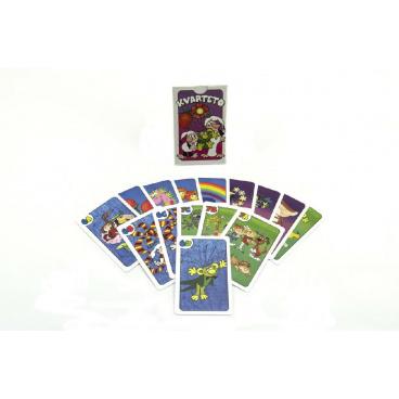 Bonaparte Kvarteto Pojď s námi do pohádky společenská hra - karty v papírové krabičce 6x9x1,5cm
