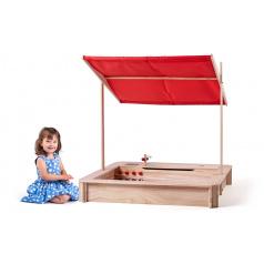 Woody 10311 Pískoviště dřevěné s kuchyňkou