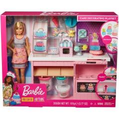 Mattel Barbie CUKRÁŘSTVÍ HERNÍ SET