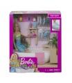 Mattel Barbie WELLNESS PANENKA V LÁZNÍCH HERNÍ SET