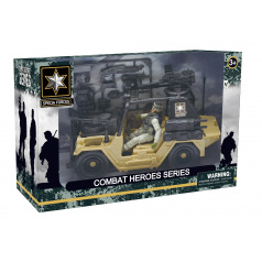 Mac Toys Combat Hero - voják s SUV