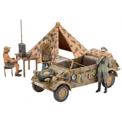 "Revell 03253 Plastic ModelKit military - German Staff Car Type 82 ""Kübelwagen"" (1:35)"