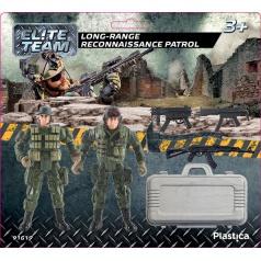 Plastica figurky vojáků Long-range reconnaissance patrol