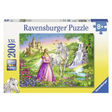 Ravensburger dětské puzzle Princezna s koněm      200d