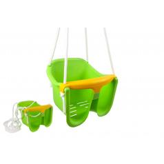 Chemoplast Hojdačka Baby zelená plast 33x30x28cm nosnosť 25kg v sieťke 12m +