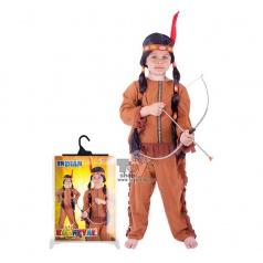 Dětský karnevalový kostým indián vel. S