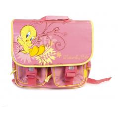 """Školní taška """"Tweety"""" s dvěma kapsami"""