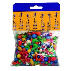 Mix perlí 100g farebné