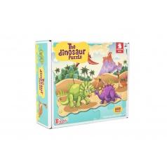 Teddies Puzzle dinosaurus 640x90cm 208ks v krabici 28x24x9cm