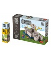 Trefl Pack Stavějte z cihel Pevnost stavebnice Brick Trick + lepidlo grátis v krabici 35x25x7cm