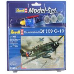 Revell ModelSet letadlo 64160 - Messerschmitt Bf-1 (1:72)