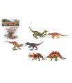 Teddies Dinosaurus plast 15-16cm 6ks v sáčku
