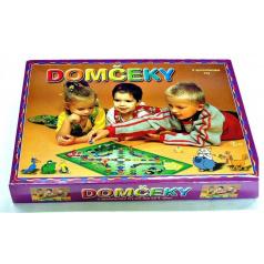 Hydrodata RAPPA hračky Domčeky verzia SK 2 spoločenské hry v krabici 34x25x4cm