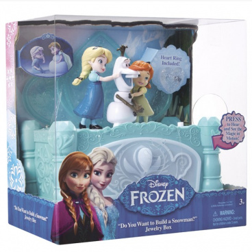 FROZEN Ledové království - Hudební šperkovnice Anna/Elsa