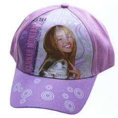 """Letní kšiltovka """"Hannah Montana"""" s kolečky na kšiltě"""