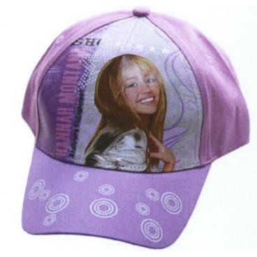 """Licence Only Letní kšiltovka """"Hannah Montana"""" s kolečky na kšiltě"""