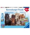 Ravensburger Fotky koní 2x24 dílků