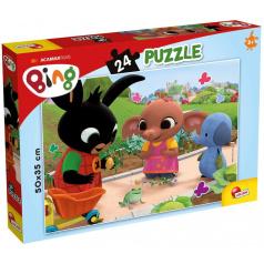 Liscianigioch BING - Žába puzzle 24 dílků
