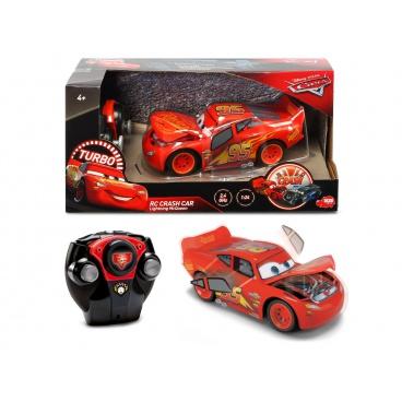 Dickie RC Cars 3 Blesk McQueen Crazy Crash na ovládání