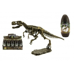 Teddies Vejce dinosaurus 3D kostra plast 18cm asst mix druhů
