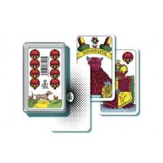 Bonaparte Mariáš jednohlavý  společenská hra  karty v plastové krabičce
