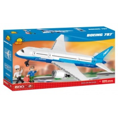 Cobi 26600 Boeing 787 Dreamliner, 600 kostek, 2 fig, stavebnice letadla