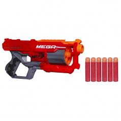 NERF MEGA Mega pistole s rotačním zásobníkem A9353