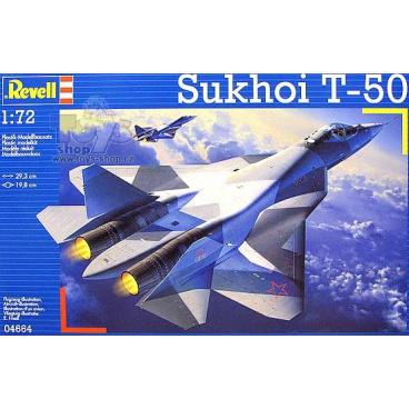 Revell Plastic ModelKit letadlo 04664 - Sukhoi T-50 (1:72)