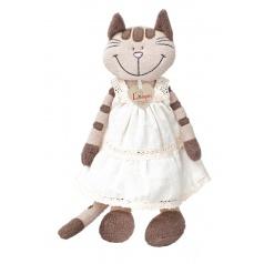 Kočka Angelique v šatech, střední