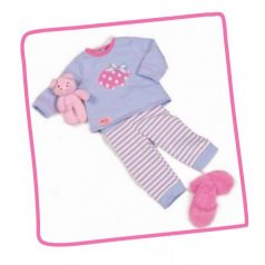 Our Generation Pyžamo s prasátkem pro panenky 46cm