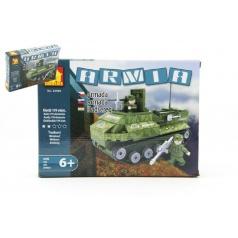 Dromader 22408 Vojáci Tank 199ks v krabici 25,5x18,5x4,5cm
