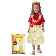 Rappa Dětská sukně Hawaii 45 cm