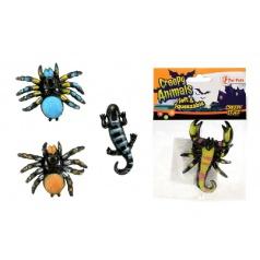 Teddies Pavouk sliz 6cm asst 4 druhy