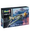 Revell Plastic ModelKit letadlo 03898 - Focke Wulf Fw190 F-8 (1:72)