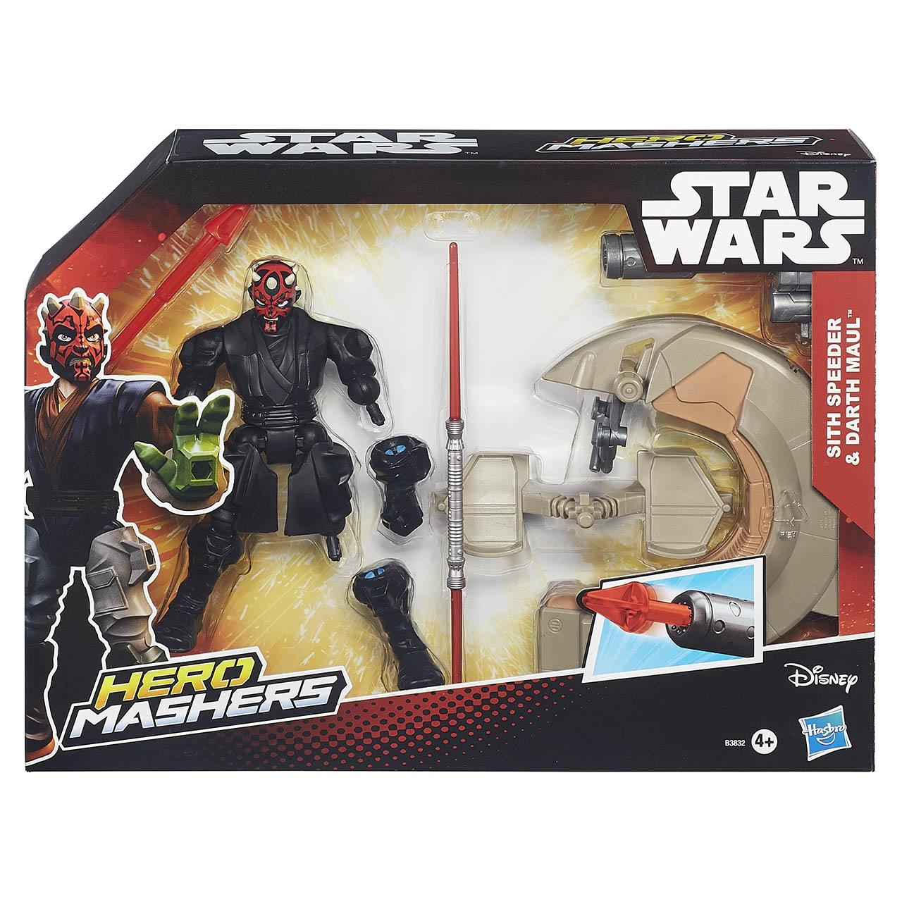 Hasbro STAR WARS FIGURKY HERO MASHERS SPEEDERS B3831