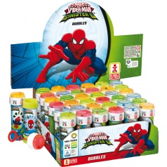 Bublifuk Spider-man 60ml (display 36 ks)