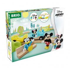 Brio 32277 Disney and Friends Vlakový set Myšáka Mickeyho