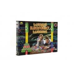 Dromader Tajomstvo elektroniky 500 experimentov na batérie v krabici 42x28,5x4cm od 6 rokov