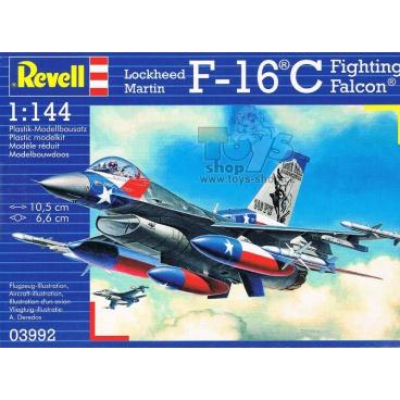 Revell Plastic ModelKit letadlo 03992 - Lockheed Martin F-16C Fighting Falcon (1:144)