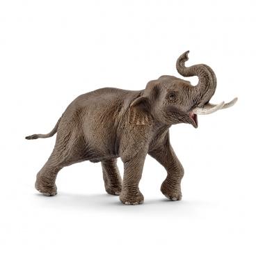 Schleich 14754 zvířátko - samec slona asijského
