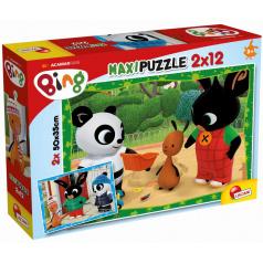 Liscianigioch BING a jeho přátelé, puzzle 2x12