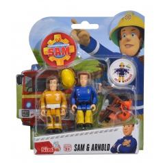Simba Požiarnik Sam Figúrky 2 ks s prísl., 4 druhy