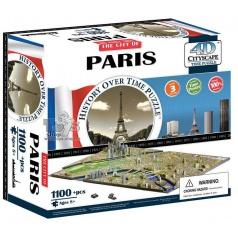 4D Cityscape Puzzle - Paříž