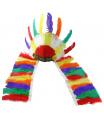 Rappa Indiánská barevná čelenka